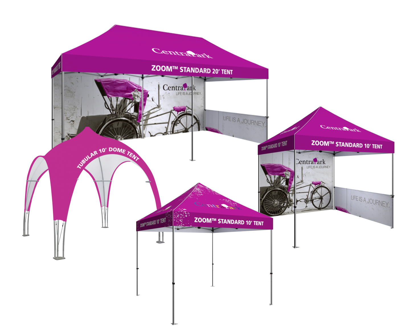 Pop-Up Tents, Canopies